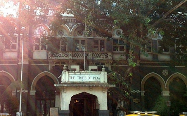 The Times of India office in Mumbai. Photo: Wikimedia Commons via Scroll