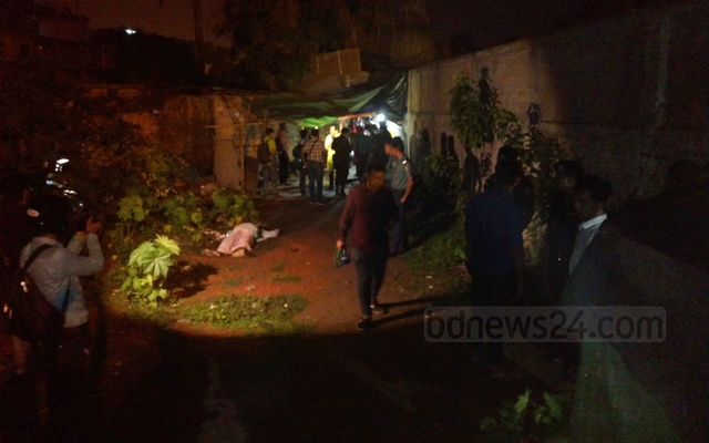 A man lies dead after an anti-drug operation in Chattogram
