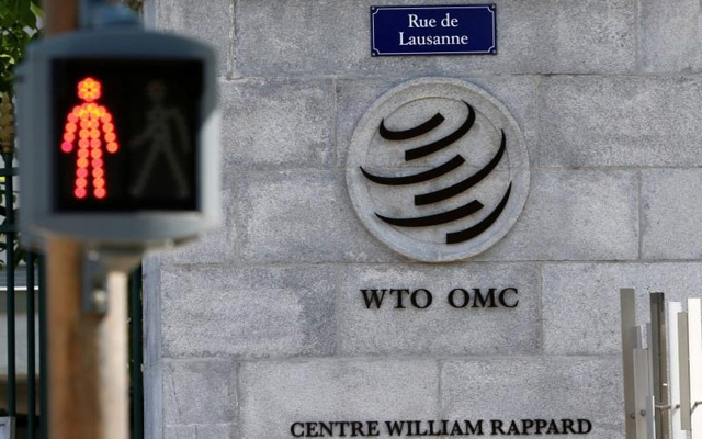 File Photo: The headquarters of the World Trade Organization (WTO) are pictured in Geneva, Switzerland, Apr 12, 2017. Reuters