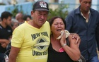 Relatives of victims of the Boeing 737 plane that crashed after taking off from Havana's main airport yesterday, arrive to a hotel in Havana, Cuba, May 19, 2018. Reuters