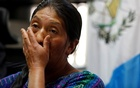 Dominga Vicente reacts during a news conference while talking about the killing of her relative Claudia Gomez, a Guatemalan immigrant killed by an US Border Patrol officer on Wednesday while entering illegally to Texas, during a news conference in Guatemala City, Guatemala May 25, 2018. Reuters