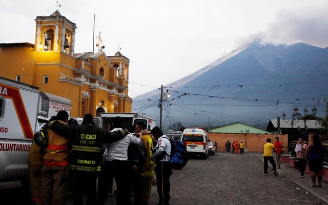 Guatemala volcanic eruption kills 25