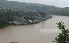 Rising water levels of Sangu and Matamuhuri due to incessant rainfall over the last couple of days submerged many low-lying areas of Bandarban, snapping road communications in most parts of the region.