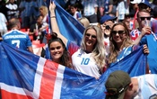 Representational Image: Iceland fans inside the stadium before the match. Football - World Cup - Group D - Argentina vs Iceland - Spartak Stadium, Moscow, Russia - June 16, 2018. Reuters