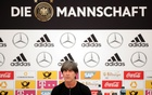 FIFA World Cup - Germany Squad Announcement - Eppan, Italy - Jun 4, 2018 Germany coach Joachim Loew during the press conference. Reuters