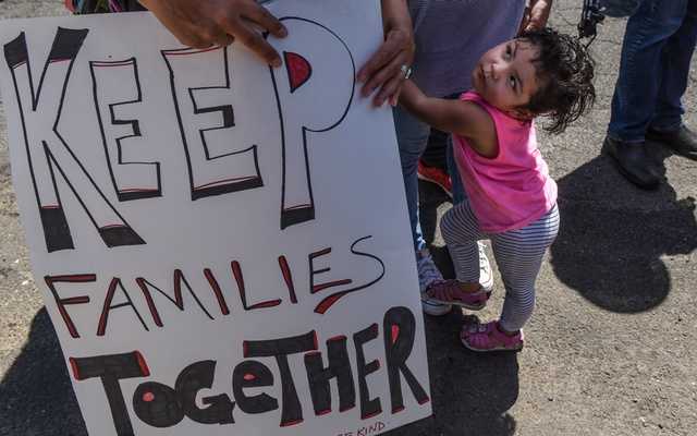 Border policy separating migrant children, parents