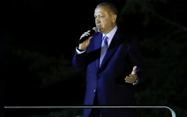 Tayyip Erdogan sworn in as Turkey's first executive president
