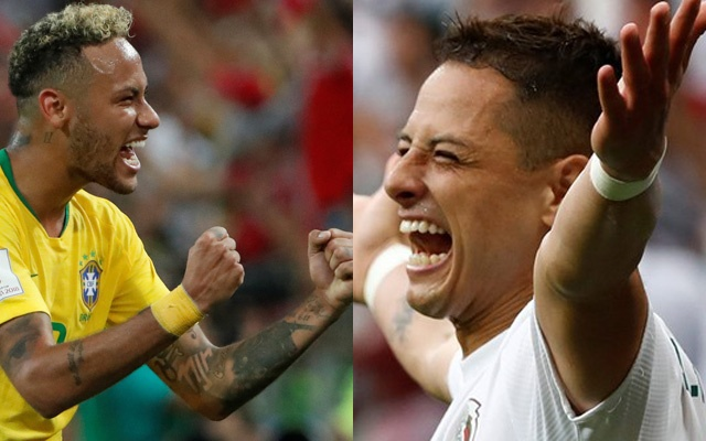 Brazil face 'attacking' Mexico in Round of 16