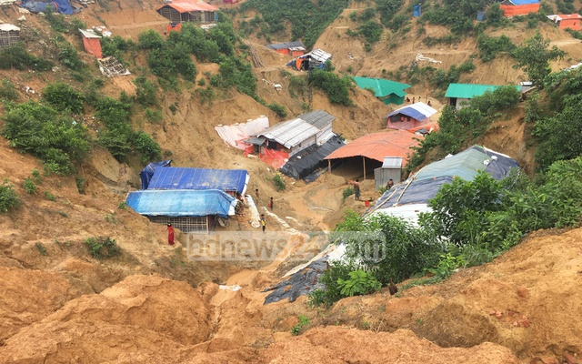 File Photo: A view of the Balukhali Rohingya camp in Cox's Bazar.