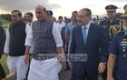 Indian Home Minister Singh arrives in Dhaka for talks