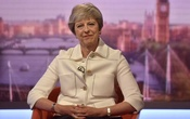 Britain's Prime Minister, Theresa May, appears on the BBC's Andrew Marr Show in London, Britain Jul 15, 2018. BBC Handout via Reuters