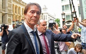 Singer Cliff Richard arrives at the High Court in London for judgement in the privacy case he brought against the BBC. Reuters