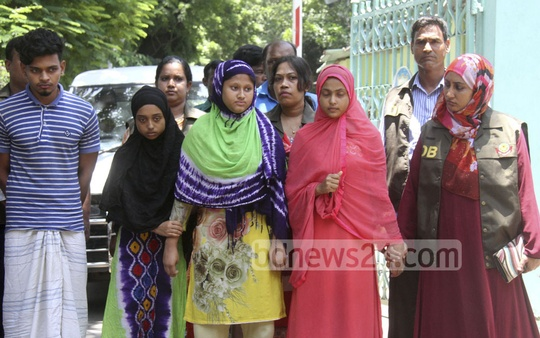 Police arrested four people in different areas in Dhaka on Thursday on charges of killing Special Branch Inspector Mamun Khan.