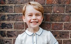 Britain's Prince George, son of Prince William and Catherine, Duchess of Cambridge, poses for a photograph to mark his 5th birthday on Sunday 22nd July, in the garden at Clarence House in central London, Britain, July 9, 2018. Matt Porteous/Kensington Palace/Handout via REUTERS