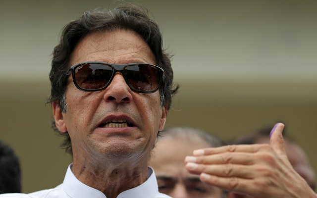 Pakistan's Imran Khan declares election win for his party