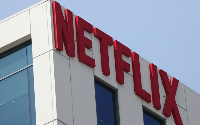 The Netflix logo is seen on their office in Hollywood, Los Angeles, California, US, Jul 16, 2018. Reuters