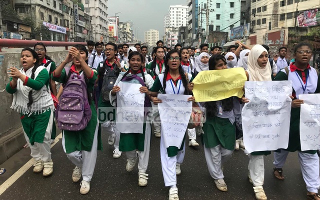 Dhaka protests slow as Bangladesh mulls death penalty over speeding traffic