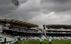 Cricket - England v India - Second Test - Lord's, London, Britain - August 9, 2018 Umpires walk on the pitch during a rain delay Action Images via Reuters/Paul Childs