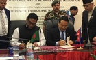 Bangladesh signs MoU with Nepal on hydro-electricity