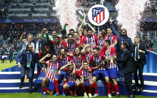 Atletico thrash Real 4-2 in extra-time to lift Spanish Super Cup
