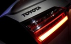 The logo of Toyota Motor Corp. is seen on a company's Corolla car in Caracas, Venezuela Oct 25, 2017. REUTERS