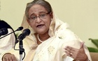 Hasina suspends Thursday's news conference on crucial pre-election talks