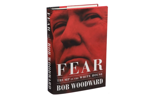 Fear Trump in the White House' by Bob Woodward
