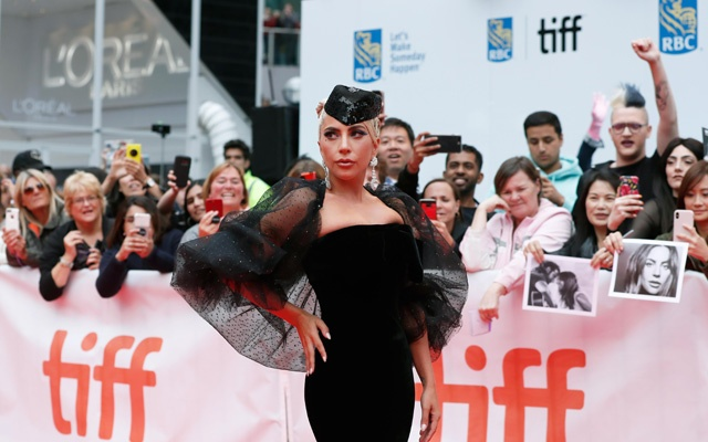 ctor Lady Gaga arrives for the world premiere of A Star is Born at the Toronto International Film Festival (TIFF) in Toronto, Canada, Sep 9, 2018. REUTERS