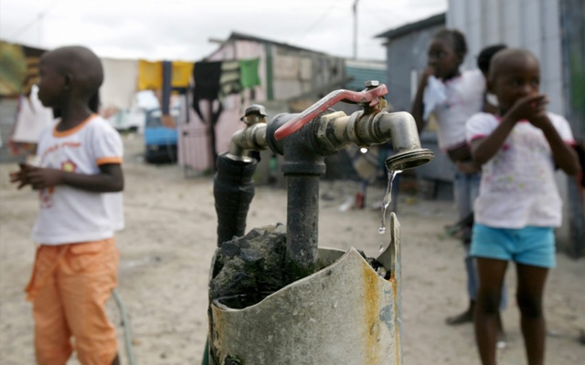Poor water conditions can lead to an outbreak of cholera. Image: Gallo Images