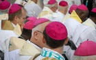Bishops attending Ascension Day Mass in Muenster, Germany, in May.