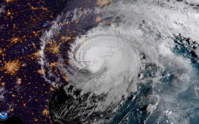 Hurricane Florence: North Carolina governor warns 'stay off the roads'