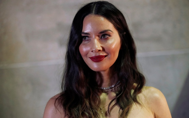 Actor Olivia Munn poses at the premiere of The Predator during the Toronto International Film Festival (TIFF) in Toronto, Ontario, Canada Sep 7, 2018. REUTERS