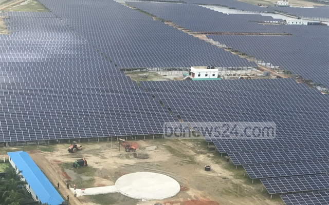 Bangladesh's largest solar power plant begins commercial