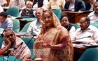 Hasina again rules out move for talks with BNP before election