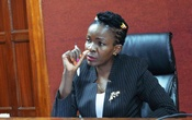 Justice Wilfrida Okwany addresses a court session where she temporarily lifted a ban on