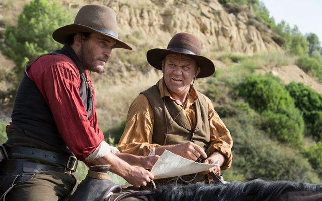 """Joaquin Phoenix and John C Reilly in """"The Sisters Brothers"""". The New York Times"""