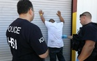 Representational Image: US Immigration and Customs Enforcement's (ICE) Homeland Security Investigations (HSI) officers execute criminal search warrants and arrest more than 100 company employees on federal immigration violations at a trailer manufacturing business in Sumner, Texas, US, August 28, 2018. US Immigration and Customs Enforcement/Handout via REUTERS