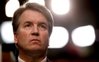 US Supreme Court nominee Judge Brett Kavanaugh listens during his US Senate Judiciary Committee confirmation hearing on Capitol Hill in Washington, US, Sep 4, 2018. REUTERS