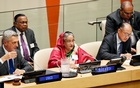 Prime Minister Sheikh Hasina attended a high-level even on refugees at the UN Headquarters in New York on Monday. Photo: PID