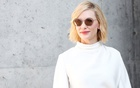 Actor Cate Blanchett after the Giorgio Armani show during Milan Fashion Week Spring 2019 in Milan, Italy, Sep 23, 2018. REUTERS