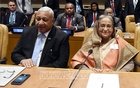 Hasina calls for technology transfer to tackle climate change effects