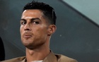 Juventus' Cristiano Ronaldo sits in the stands during the Champions League, Group H, Juventus v BSC Young Boys at Allianz Stadium, in Turin, Italy, October 2, 2018. Reuters