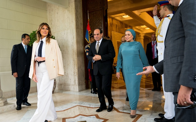 Melania Trump Wears Another Controversial Outfit - This Time With A Disturbing History