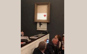 Banksy's painting