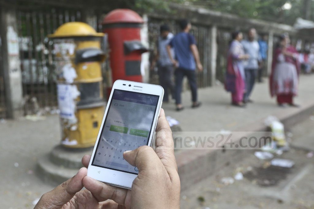 Handwritten letters have lost appeal as technology has made it quite easy for people to communicate. But roadside postboxes have stayed on and World Post Day is celebrated every year. Bangladesh observed the day on Tuesday. Photo: Abdullah Al Momin