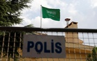 A Saudi flag flutters atop Saudi Arabia's consulate in Istanbul, Turkey Oct 12, 2018. Reuters