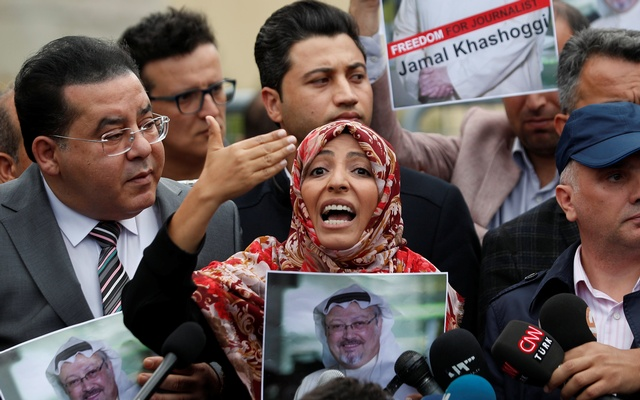 Khashoggi's fiancée says those responsible for disappearance must be held fully accountable