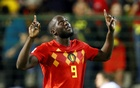 Belgium's Romelu Lukaku celebrates scoring their first goal. Football - UEFA Nations League - League A - Group 2 - Belgium v Switzerland - King Baudouin Stadium, Brussels, Belgium - October 12, 2018. Reuters