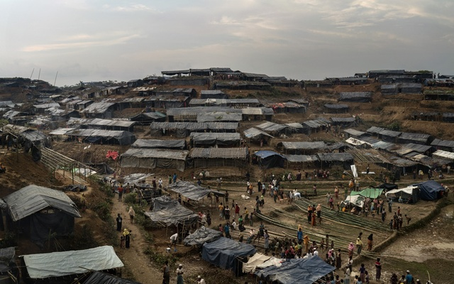 A settlement for Rohingya arrivals in Thang Khali, Bangladesh, Sep 7, 2017. The New York Times