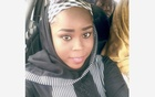 Medical worker Hauwa Mohammed Liman, who was held hostage by Islamic State in Nigeria since March, is pictured in this handout photograph obtained by Reuters on October 14, 2018.